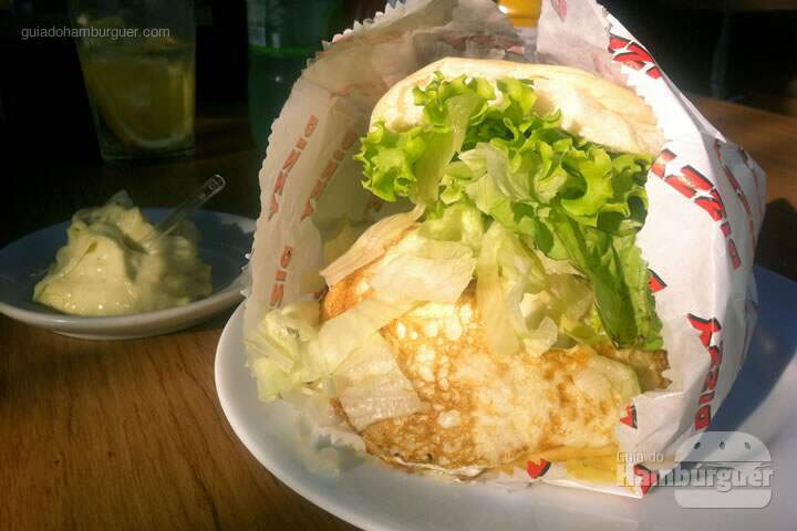 Cheese egge salada (x-egg salada) - Dizzy