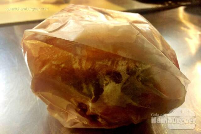 Embalagem do hambúrguer - Vinil Burger