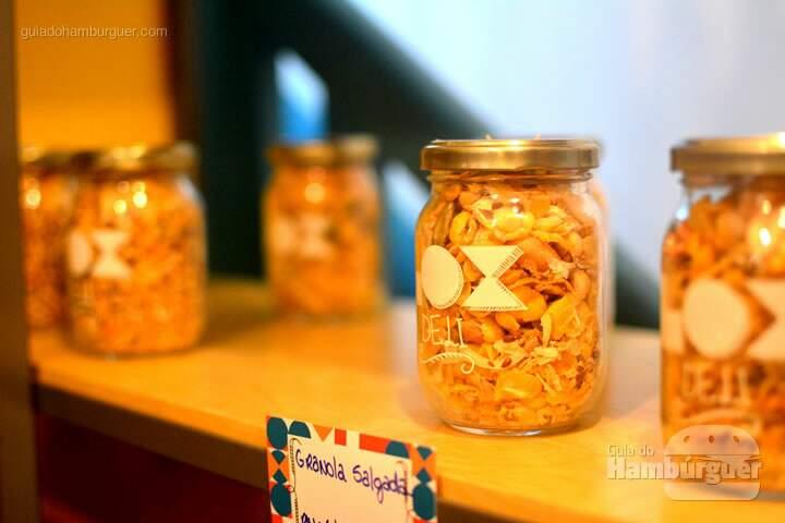 Granola salgada - Lox Deli