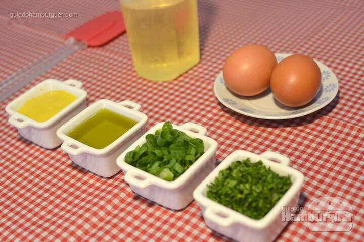 Ingredientes - Receita maionese caseira