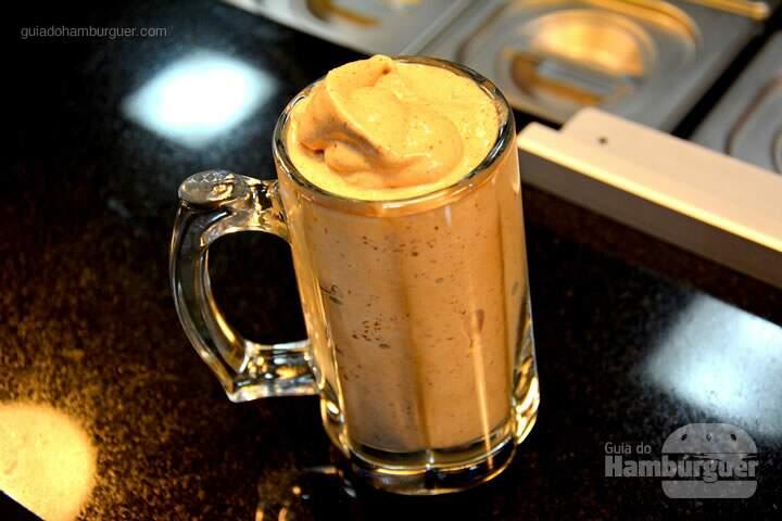 Milk Shake de Ovomaltine - Roncador Hamburgueria Artesanal