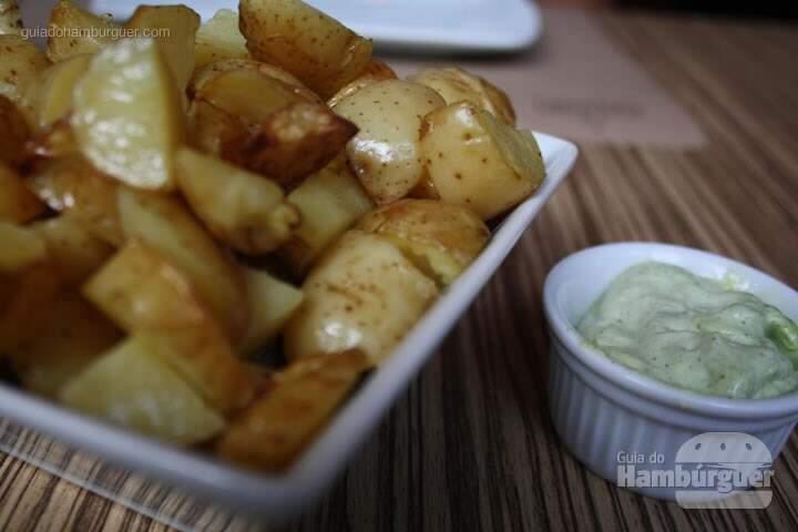 Batatas com maionese - Vapor Burger