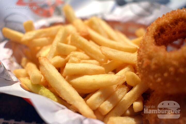 Batatas palito - Big Kahuna Burger