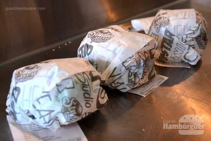 Burgers prontos - Stunt Burger