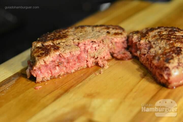 Hambúrguer mal passado  - Receita hamburguer perfeito caseiro e profissional