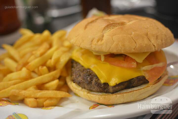 Premium Burger Single - Johnny Rockets Shopping Cidade de São Paulo
