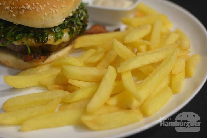 Batatas fritas - HQ Hamburgueria Gourmet