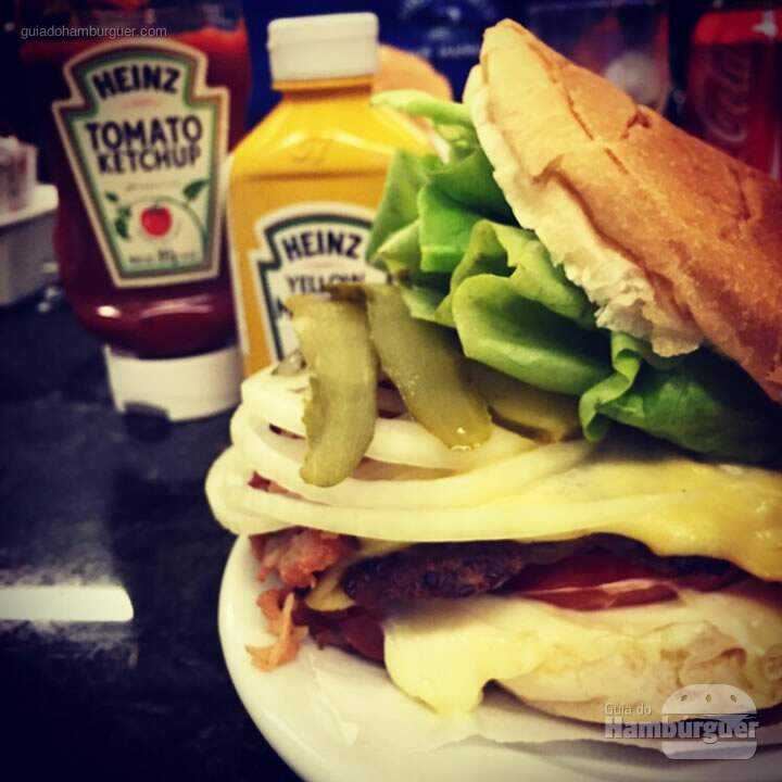 X burger da Casa  - Hamburgueria por Lelê Gianetti