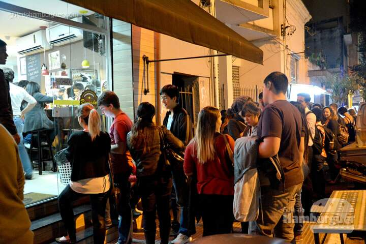Fila de espera - The Burger Battle  no Roncador Hamburgueria