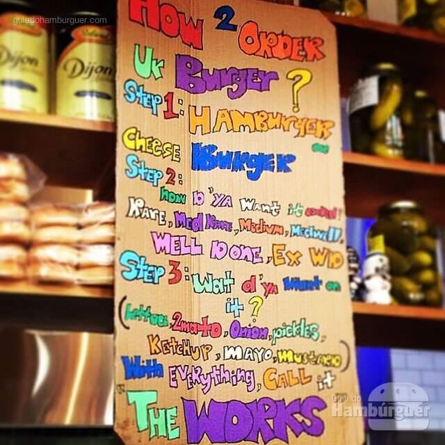 Cardápio - Burger Joint NY