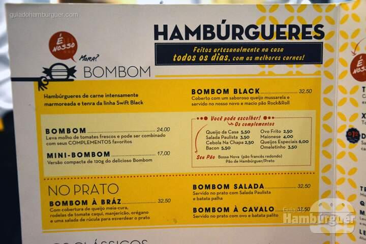 Cardápio de hambúrguer - Lanchonete da Cidade