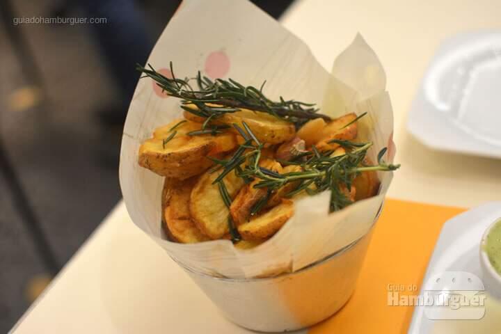 Batatas Rústicas - Lanchonete da Cidade