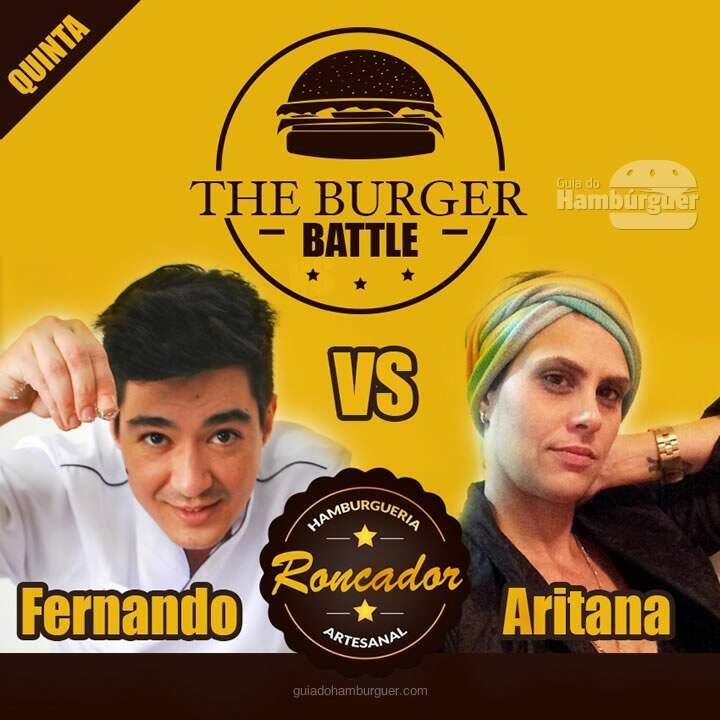 The Burger Battle acontece quinta-feira 3 de setembro no Roncador Hamburgueria Artesanal