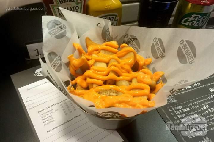 Fritas com cheddar por R$ 16,90 - Q-Burger