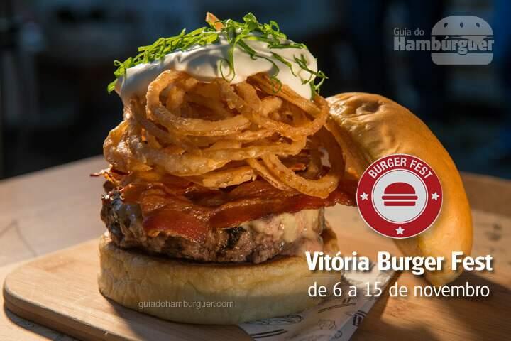 Burger Fest Vitória - de 6 a 15 de novembro