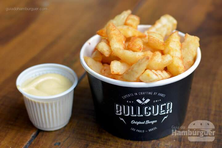 Crinkle fries - Bullguer