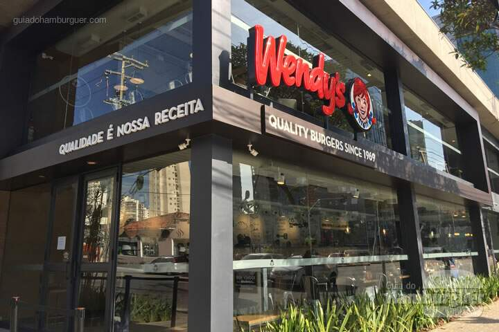 Fachada do Wendy's