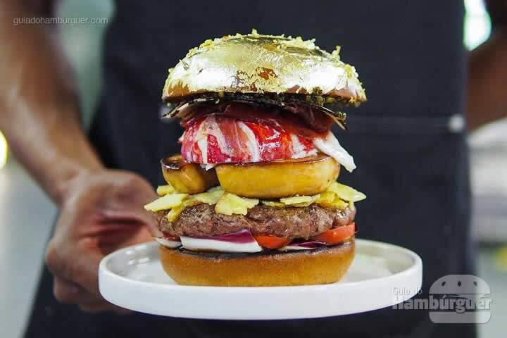 Chef holandês Diego Buik cria hambúrguer para ser o mais caro do mundo