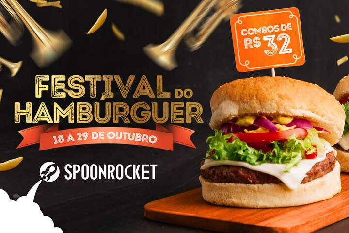 Festival do Hambúrguer SpoonRocket