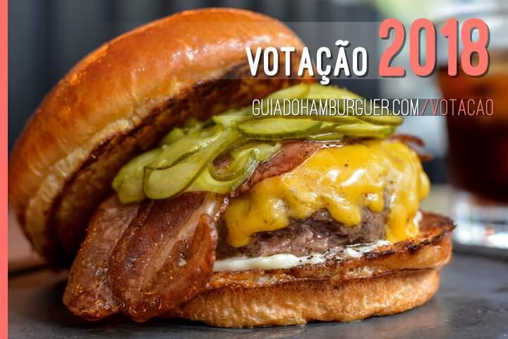 Votação 2018, o melhor hambúrguer de São Paulo