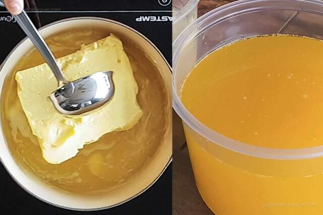Receita de Manteiga Clarificada
