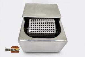 [compre-já] Manteigueira Profissional para pão de hambúrguer
