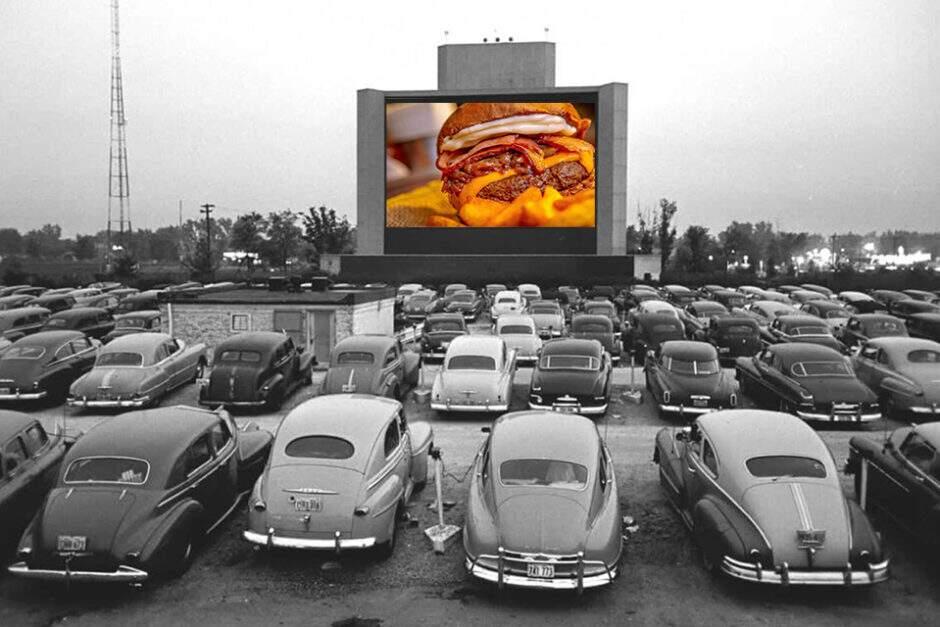 Hambúrguer e drive-in: a combinação que conquistou a rotina dos brasileiros na quarentena