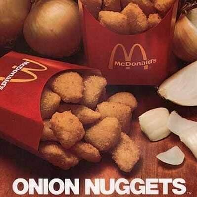 Nuggets de cebola