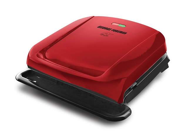 Grill vermelho - George Foreman Grill