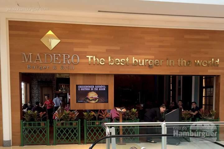 Fachada - Madero Burger & Grill