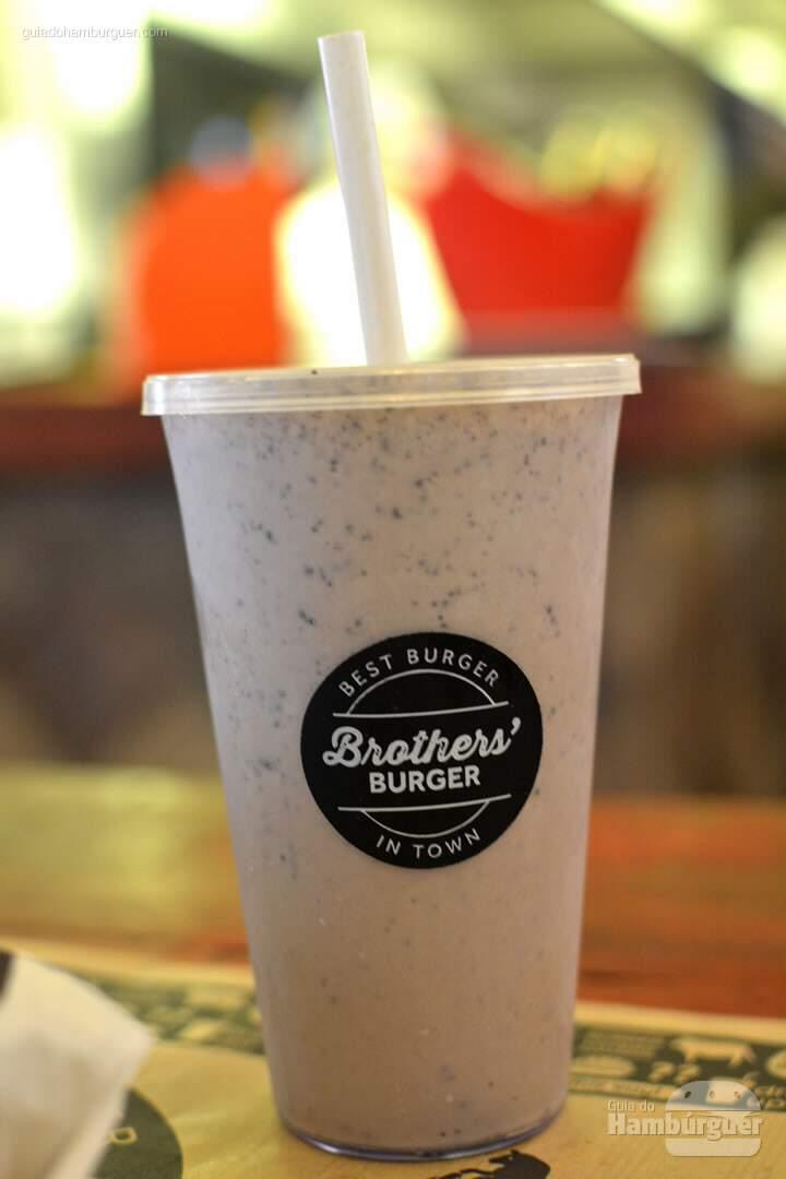 Milk shake de Oreo - Brother's Burger