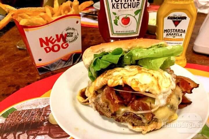 Cheese egg bacon - New Dog