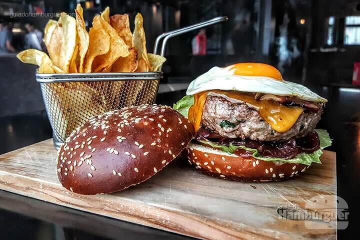 Receita de hambúrguer do CR7